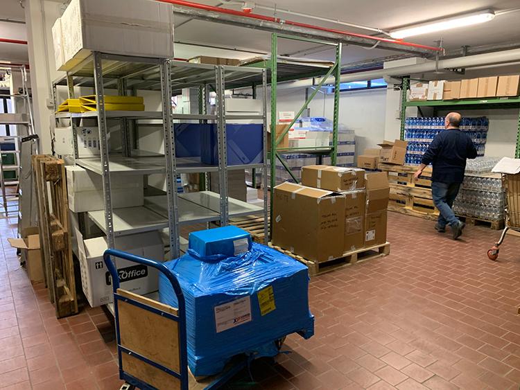 Logistica e facchinaggio
